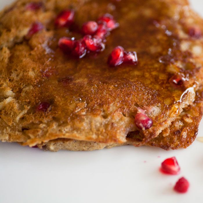 Healthy Pancakes with Pomegranate | Recipe