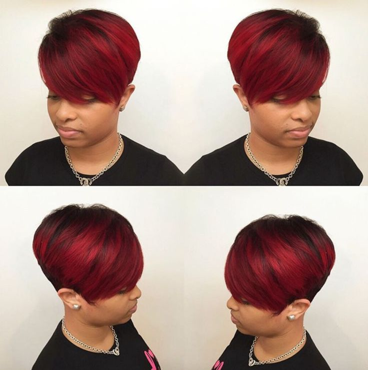 Beautiful red pixie by @hairbylatise - http://community.blackhairinformation.com/hairstyle-gallery/short-haircuts/beautiful-red-pixie-hairbylatise/