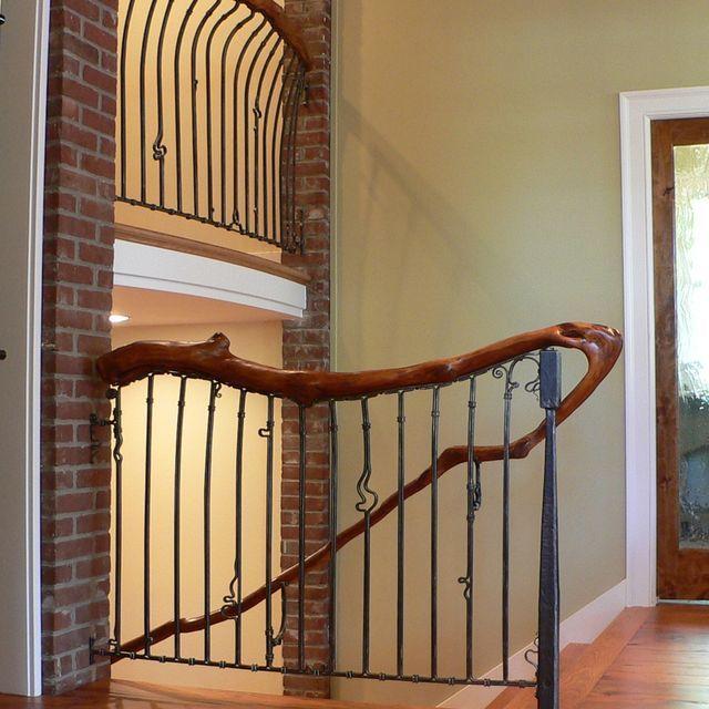 7 besten treppengel nder gel nder schmiedegel nder metall stahl messing bilder auf. Black Bedroom Furniture Sets. Home Design Ideas