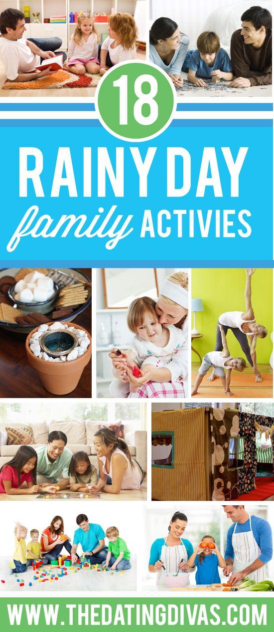 Rainy Day Family Activities!