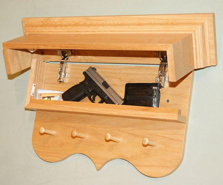 how to make a gun rack
