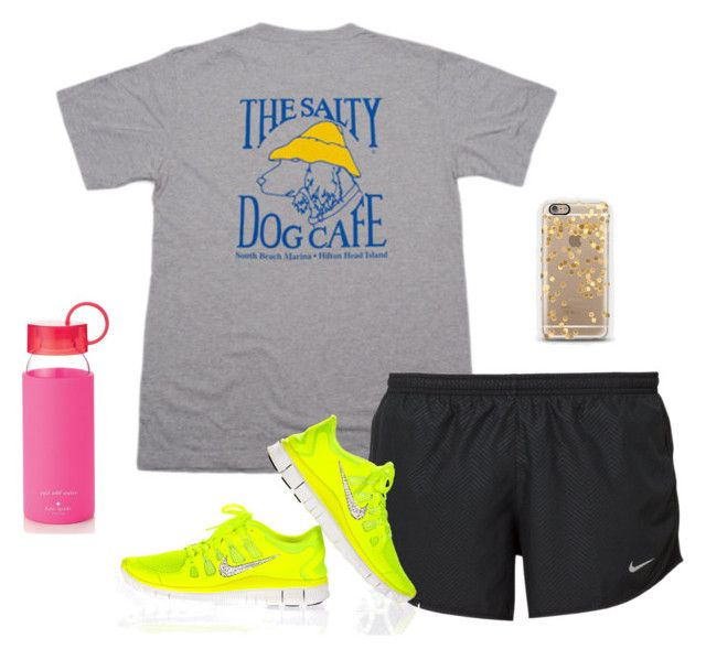 """""""Anyone going to Myrtle Beach this summer?"""" by preppy-is-life ❤ liked on Polyvore featuring NIKE and Kate Spade"""