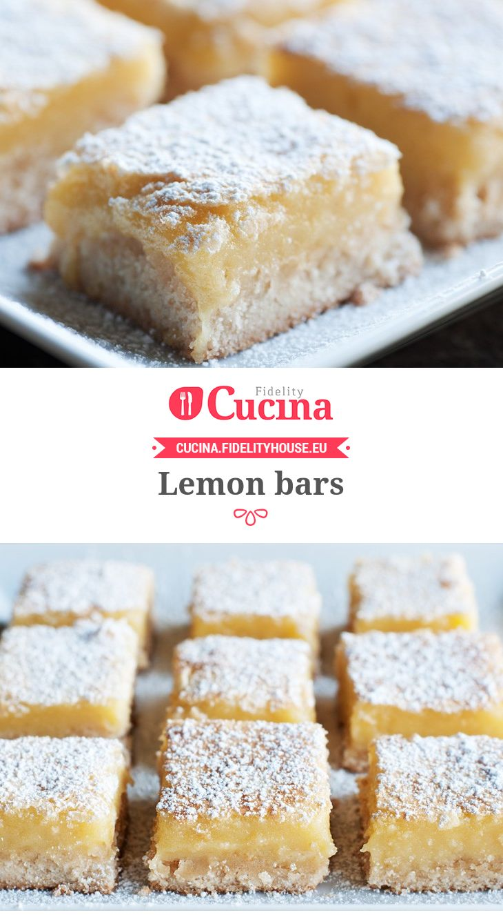 #Lemon bars