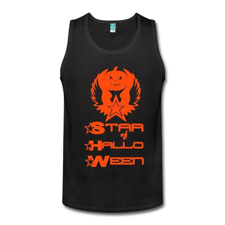 Star of Halloween - Sei der Star jeder Halloween Party mit diesen genialen Shirts und Geschenken. Auch ohne Schriftzug erhältlich. #halloween #star #kürbis #fun #party #herbst #design #shirts #geschenke