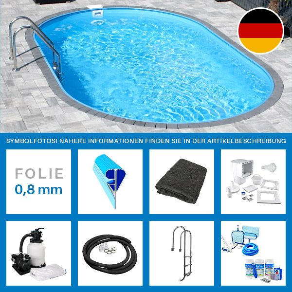 Exklusiv und nur in Verbindung mit dem Kauf des Pool-Sets: Poolroboter Dolphin Poolstyle Plus M1C    zum einmaligen Vorteilspreis von nur 579,00 EUR statt 679,00 EUR! Poolroboter POOLSANA Pro    zum einmaligen...