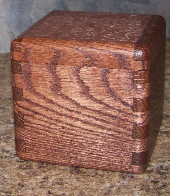 how to make a dovetail wooden box