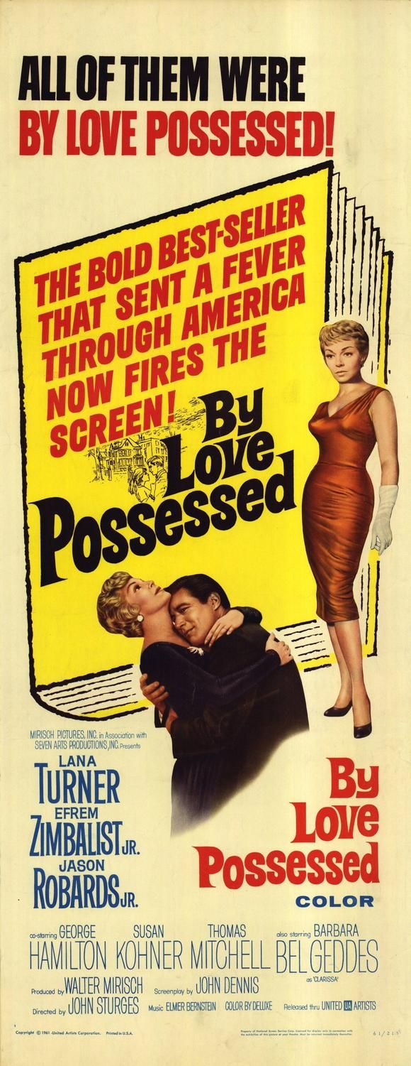 1961 drama film directed by john sturges and written by charles schnee based on