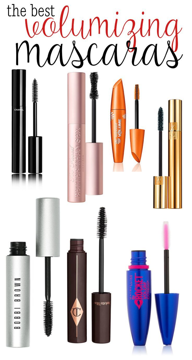 The BEST Volumizing Mascaras!