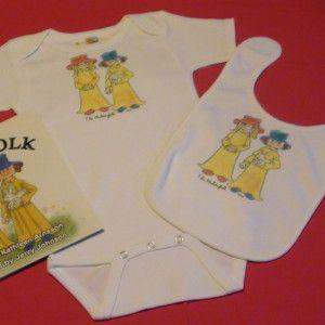 Huldufolk Fryea & Fjola /book/bib & Onesie