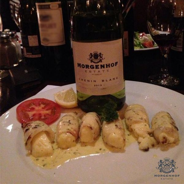 Chenin Blanc? Pair our superb wine with this delicious Calamari Stuffed with Chorizo and Haloumi recipe - http://ow.ly/BdI1Z