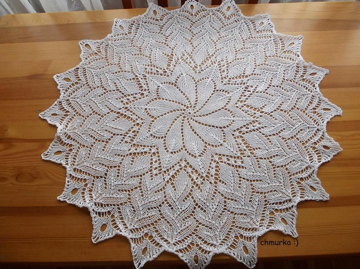 Knitting Patterns Lace Doilies : 35 best images about knitted lace on Pinterest Cable ...