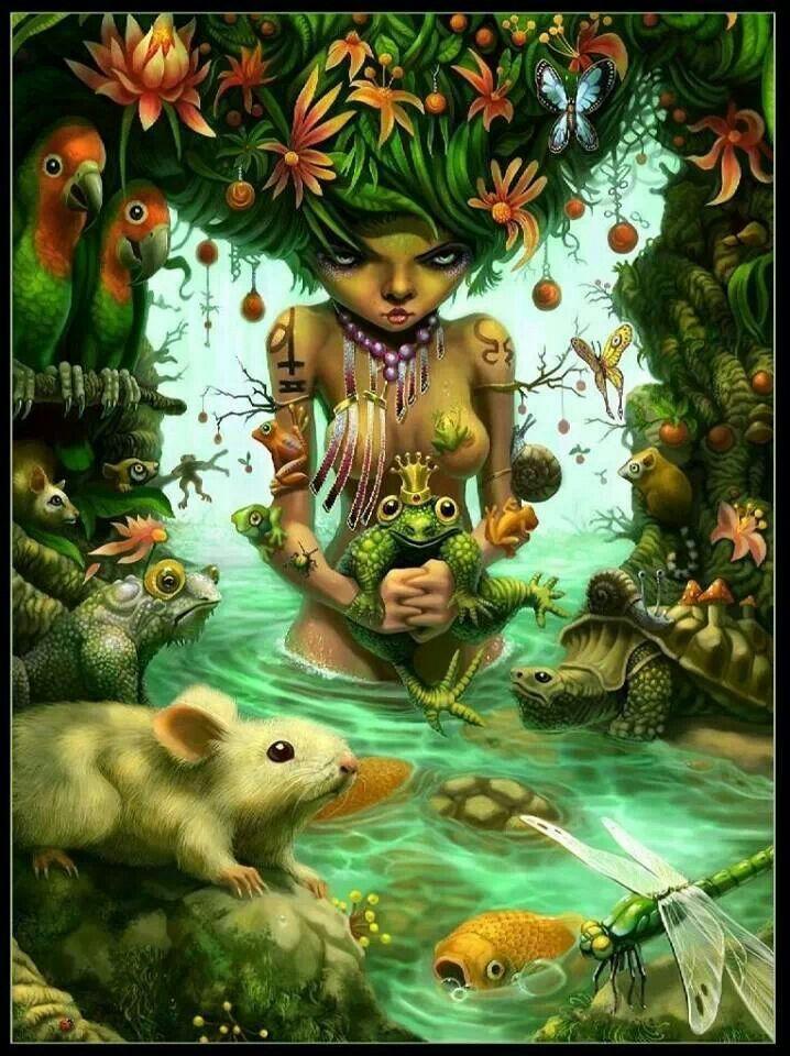 La MADRE naturaleza ......