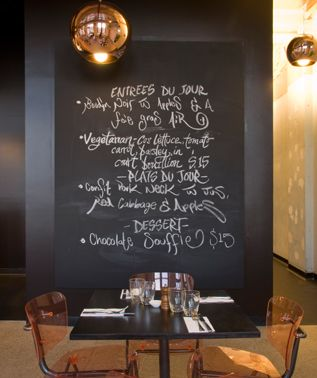 Come in and see the amazing work done by Karen. The blackboards are looking great. For $300 Karen will decorate our boards any way you want for your special occasion.