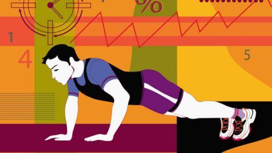 Интервальный тренинг - это когда бег, прыжки, приседания, отжимания и любые другие упражнения высокой интенсивности чередуются с коротким отдыхом