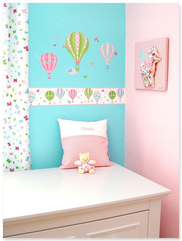 10 besten hei luftballons in rosa gr n bilder auf. Black Bedroom Furniture Sets. Home Design Ideas