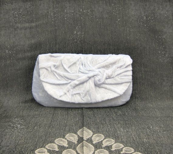 Love White Clutch Bag  Elegant ..Retro.. by MariesCorner on Etsy