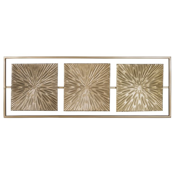 Luxury Wanddeko aus goldfarbenem Metall x Jetzt bestellen unter https moebel ladendirekt