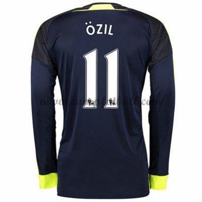Arsenal Fotballdrakter 2016-17 Ozil 11 Tredjedrakt Langermet
