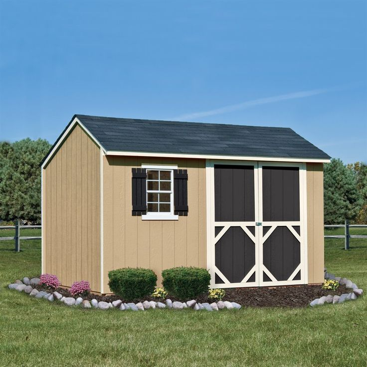 Shop Heartland Home And Garden Heartland Stratford X Wood Storage Shed At  Loweu0026 Canada. Find Our Selection Of Storage Sheds At The Lowest Price  Guaranteed ...