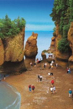 Fundy Provincial Park New Brunswick Canada. Where the time & tide waits for no man
