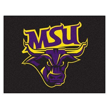 FANMATS NCAA Minnesota State Univ Mankato Mavericks Nylon Face Baseball Rug