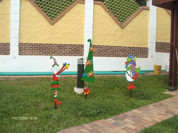 Navidad en el jardin