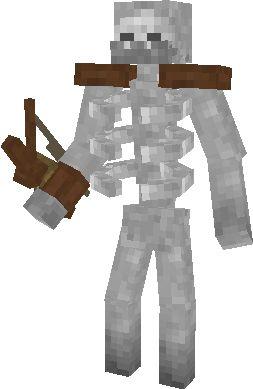 скины скелетов для майнкрафт #8