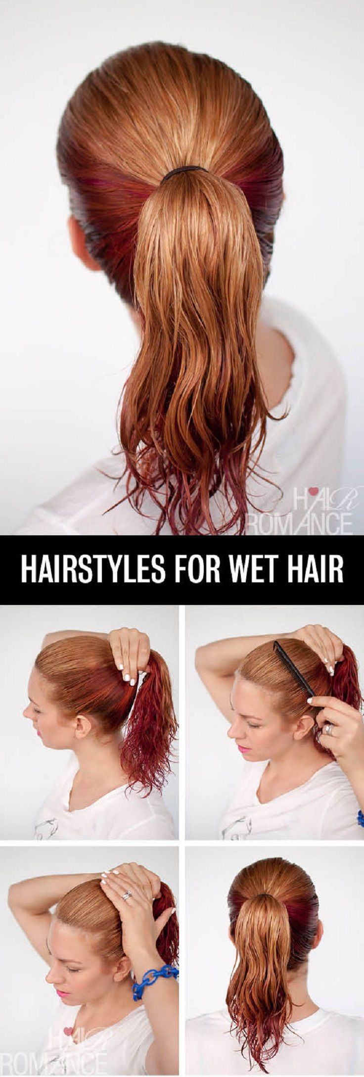 Stupendous 1000 Images About Hairstyles For Wet Hair On Pinterest Chignons Hairstyles For Men Maxibearus
