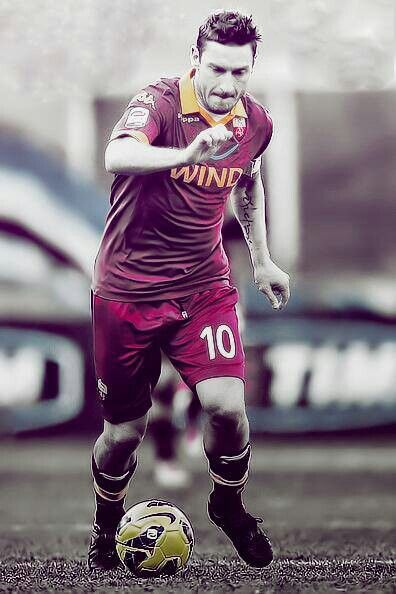 Francesco Totti - The King of Rome.