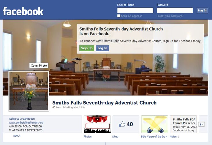 Smiths Falls Seventh-day Adventist Church Smiths Falls ON : Our Social Media Live