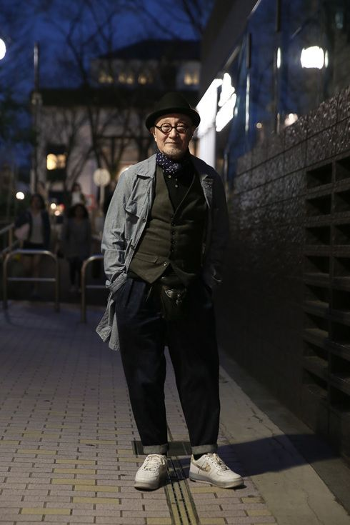ストリートスナップ原宿 - 菊池武夫さん - NIKE, ナイキ