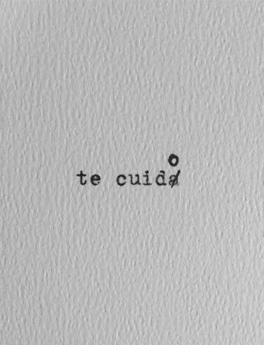Você não sabe mas eu te cuido em silêncio