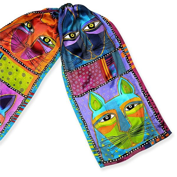 gattoso foulard di Laurel Burch www.gattosi.com