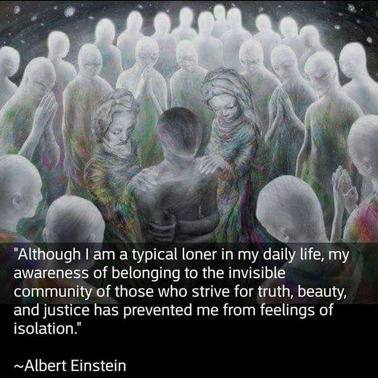 Loner who belongs