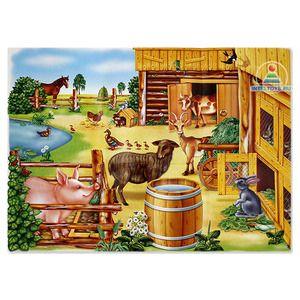 «Деревенский дворик», демонстрационный материал купить в интернет-магазине «Умная игрушка»
