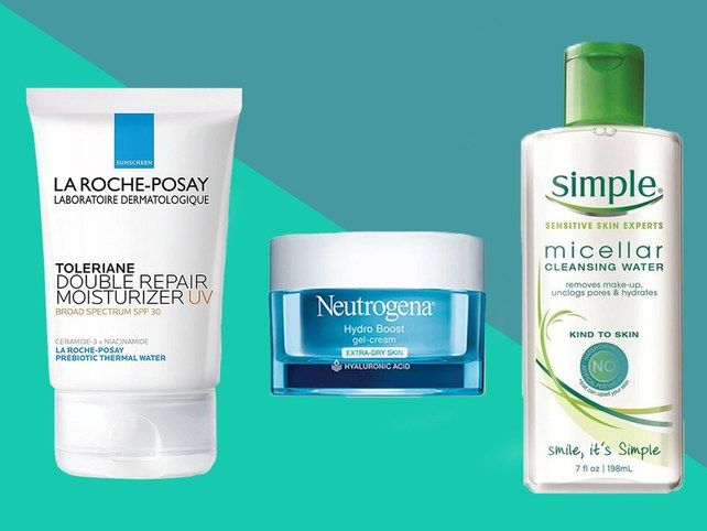 21 Drugstore Products Dermatologists Recommend For Sensitive Skin Moisturizer For Sensitive Skin Skin Cleanser Products Sensitive Skin Care