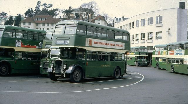 bournemouth bus | Bournemouth Bus Station 1968