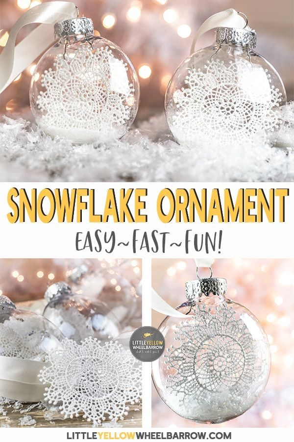 Diy Christmas Ornaments You Can Make Faster Than A Melting Snowflake Diy Christmas Tree Ornaments Christmas Crafts To Make Handmade Christmas Crafts