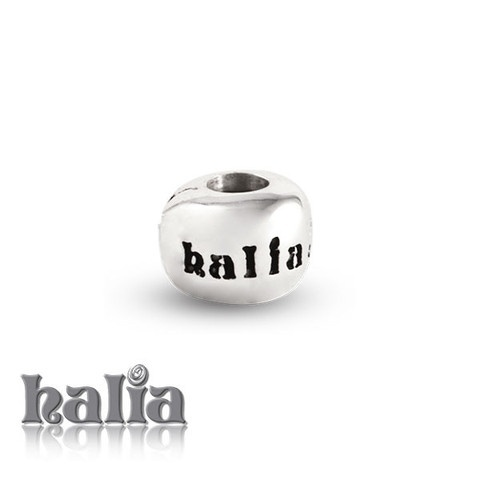 Mini Safety Clip: Replacement safety clip with alternate design (Halia logo only), for use with the Halia Diamond (Universal) Bracelet or Necklace. Sterling silver, hypo-allergenic and nickel free.     $28.00