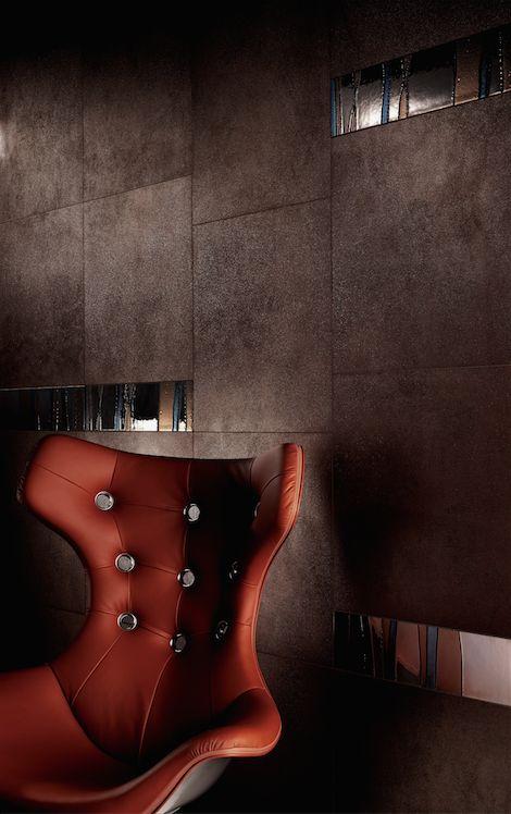 Linea Granitoker, serie Metallica #CasalgrandePadana #architecture #design #interiordesign #ceramics