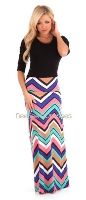 Gorgeous spring color maxi skirt! LOVE this!!