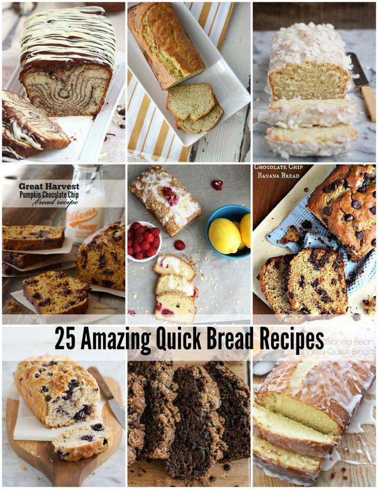 25 Quick Bread Recipes