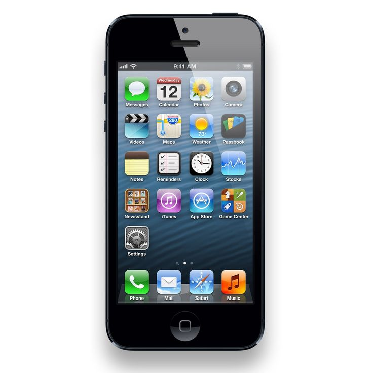 Apple iPhone 5 16GB Unlocked GSM Seller Refurbished Cell Phone - #IPH 5 16GB CRC