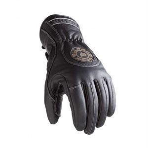 Guantes Bultaco Heritage, transpirable, impermeable y forro polar de piel sintético, reforzado de protección en parte de los dedos, no podrás ir más cómodo y seguro. www.relojes-especiales.net #piel #bultaco #moteros #guantes