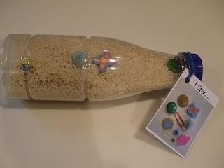 hidden treasure bottle craft- Parable of The treasure in the stony field. Matt. 13:44
