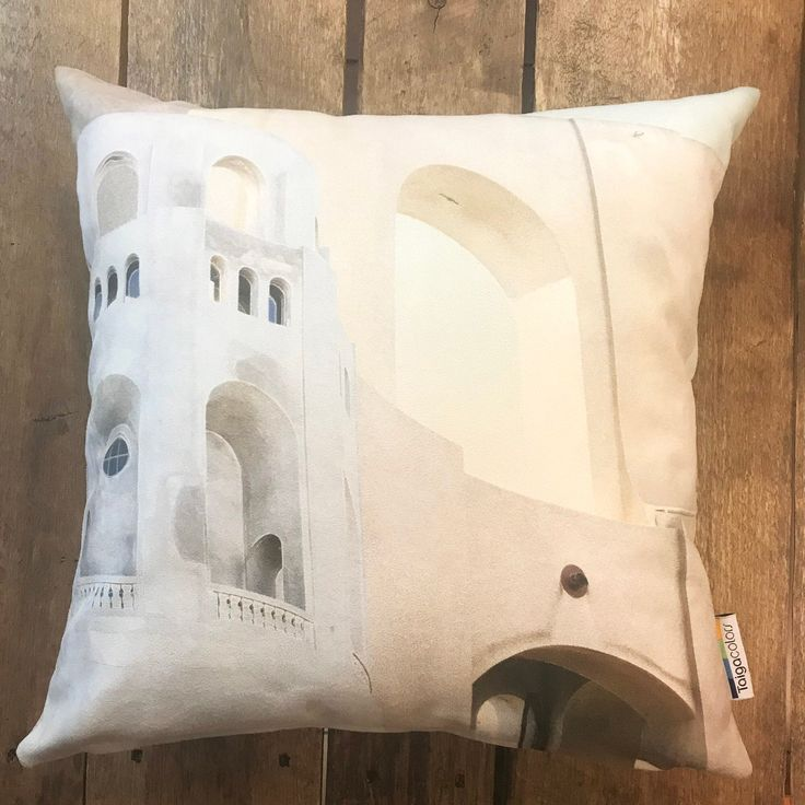 COIT TOWER luxury designer cushion cover 18″