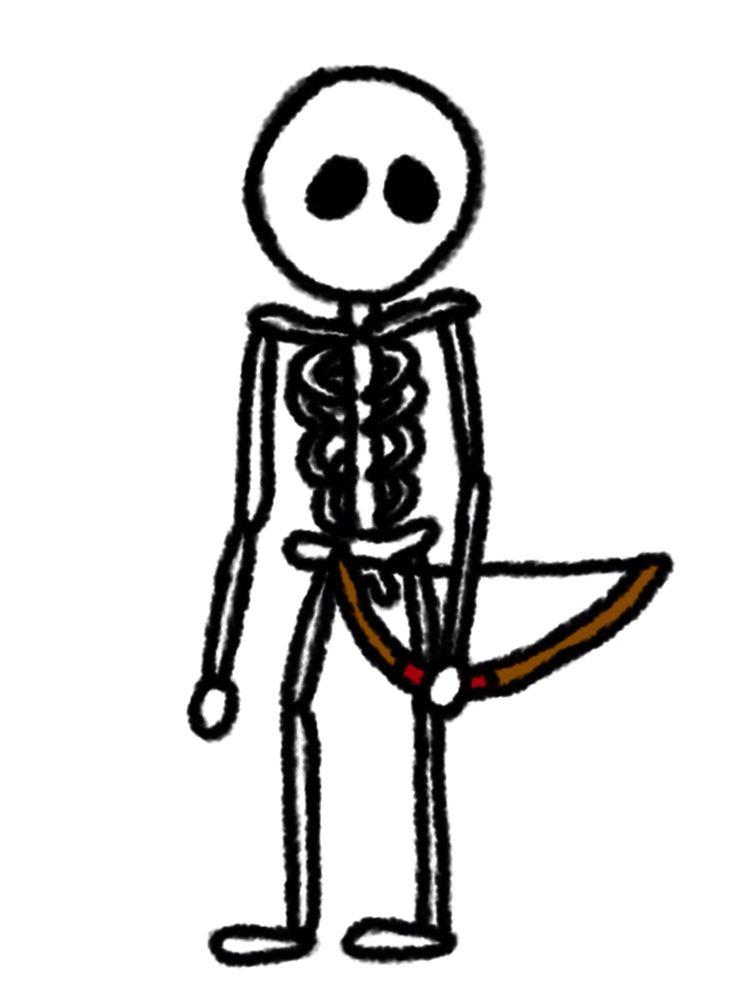 Minecraft Skeleton.