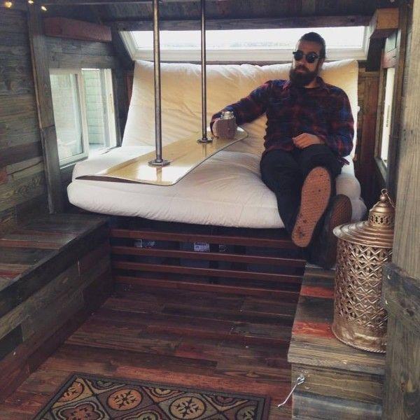attach table to ceiling!!!!!!!   BRILLANT!!!   Daniels Zen Den Micro Camper 007