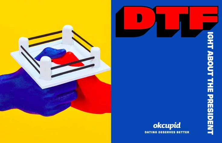 "OkCupid's cheeky new ad campaign by edgy artist Maurizio Cattelan asks: ""Are you DTF?"" — Quartzy"