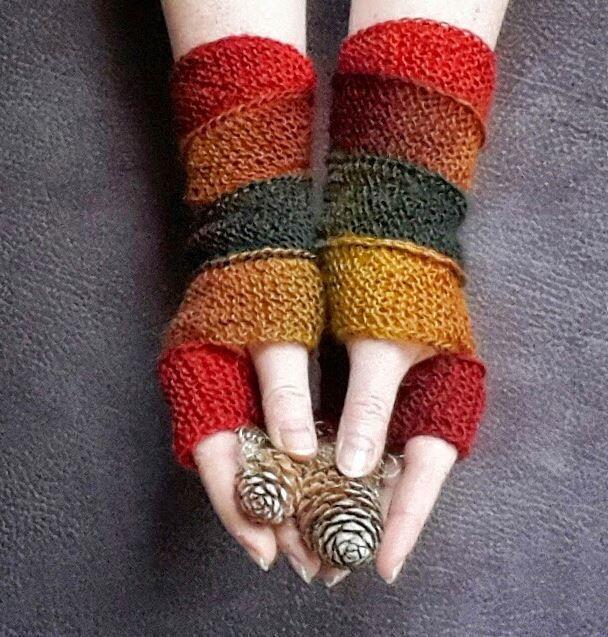 Best 354 Fingerless Gloves Mittens Ideas On Pinterest Knitting